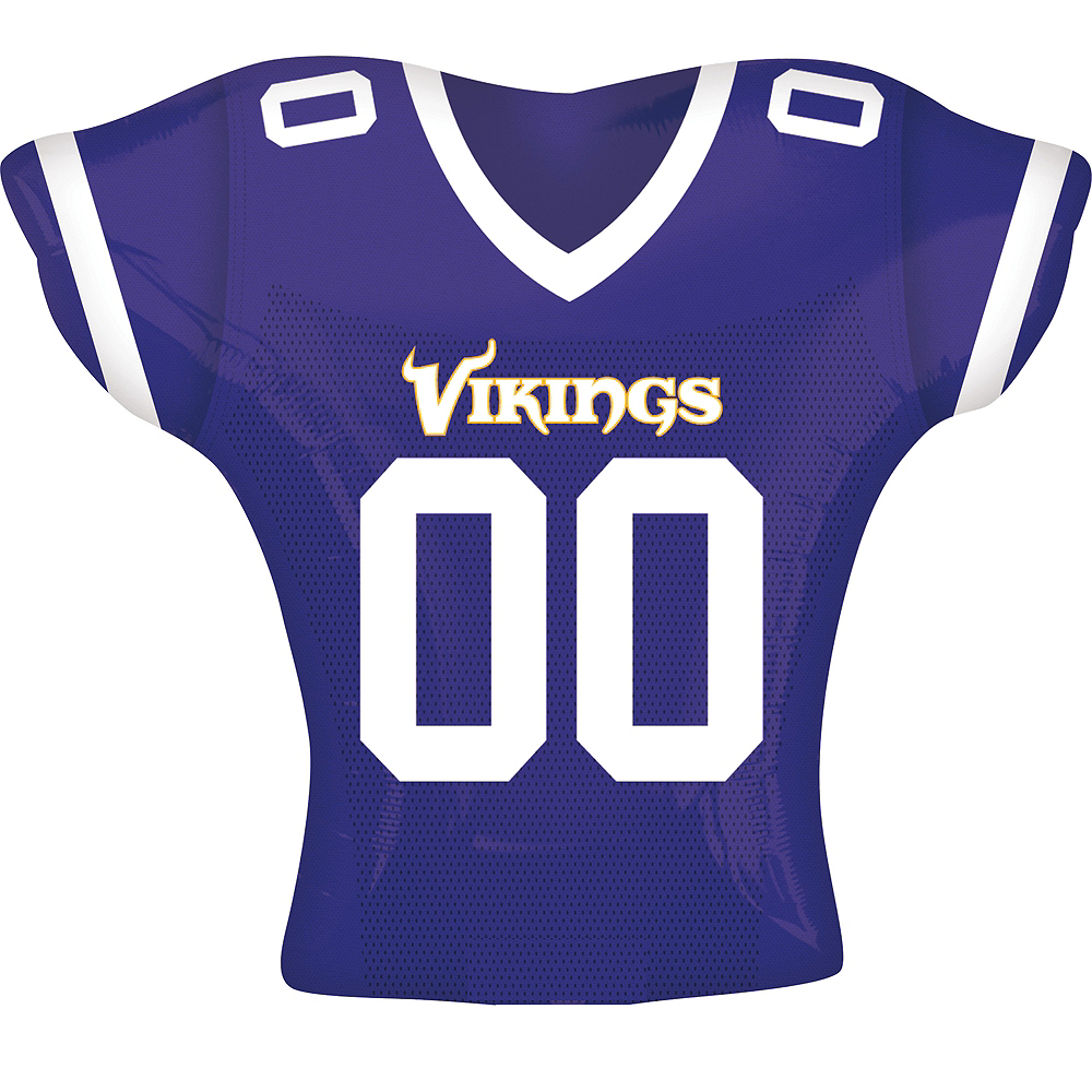 Minnesota Vikings Balloon - Jersey Image #1
