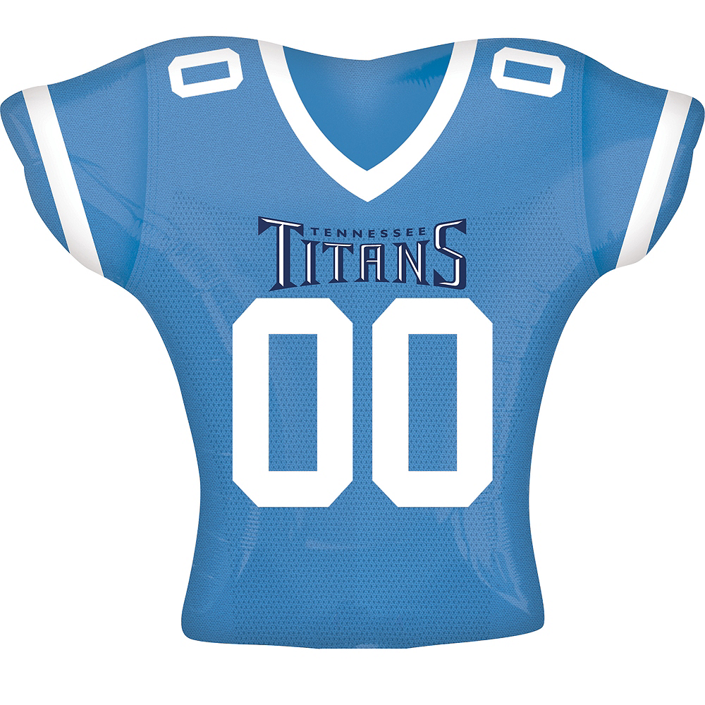 Nav Item for Tennessee Titans Balloon - Jersey Image #1
