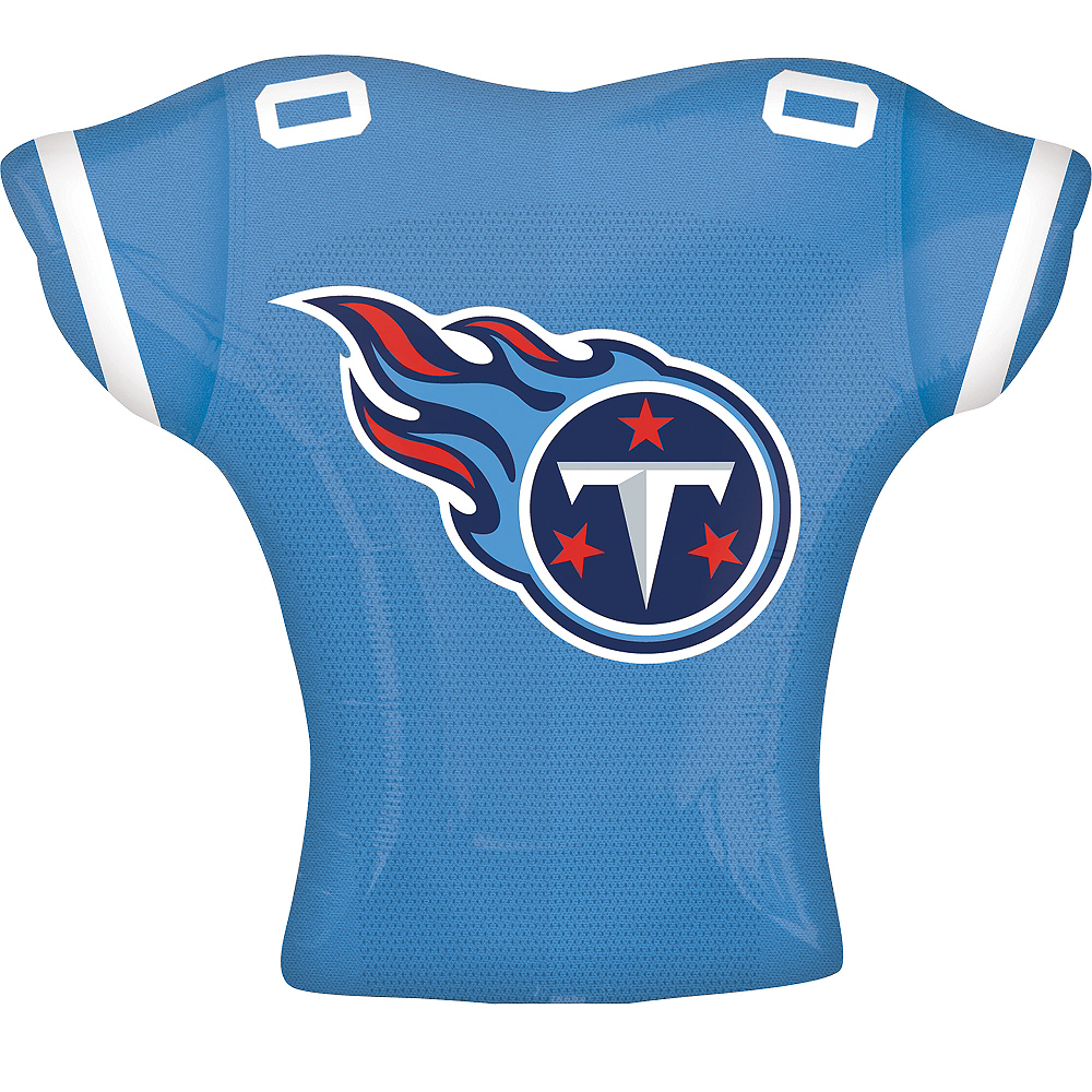 Nav Item for Tennessee Titans Balloon - Jersey Image #2
