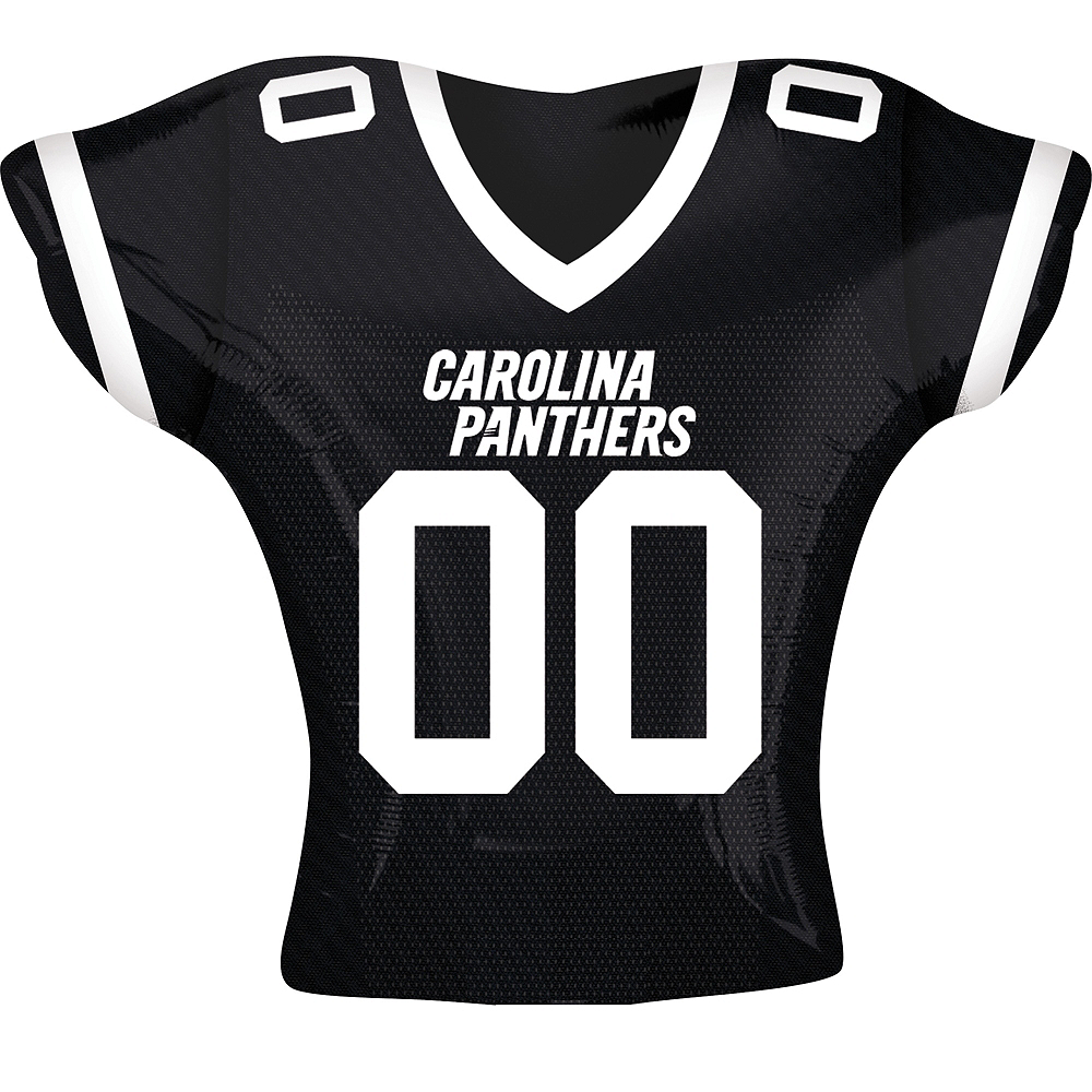 Carolina Panthers Balloon - Jersey Image #1