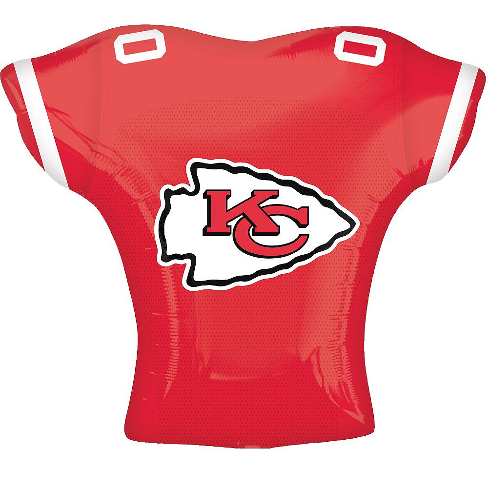 Kansas City Chiefs Balloon - Jersey Image #2