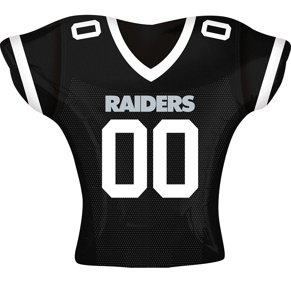 Oakland Raiders Balloon - Jersey Image #1