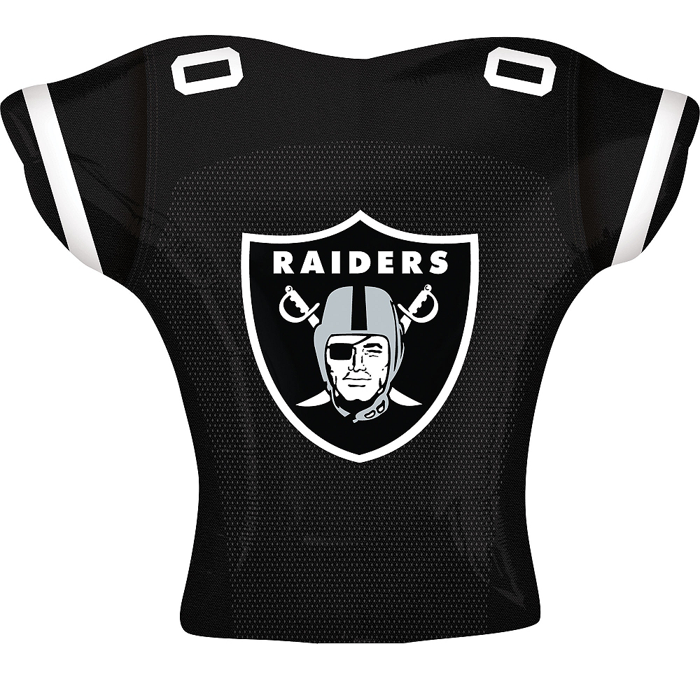 Oakland Raiders Balloon - Jersey Image #2