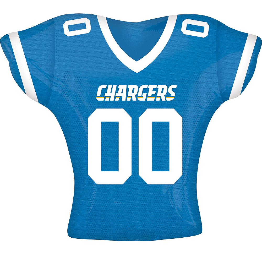 Los Angeles Chargers Balloon - Jersey Image #1