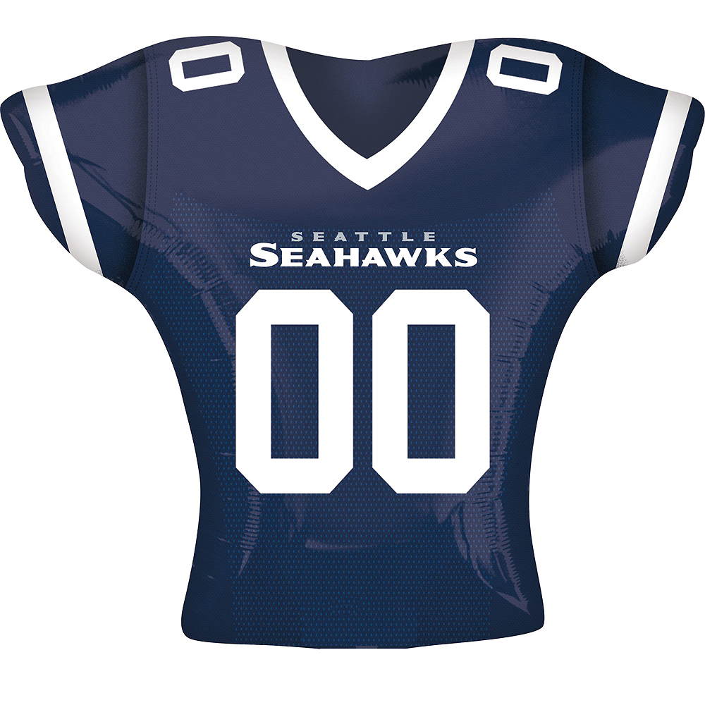 Seattle Seahawks Balloon - Jersey Image #1
