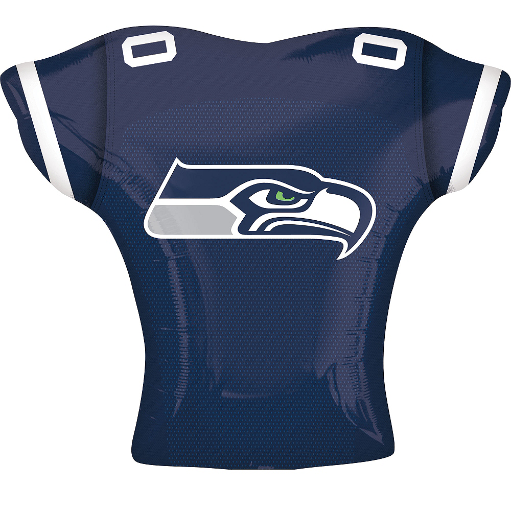 Seattle Seahawks Balloon - Jersey Image #2