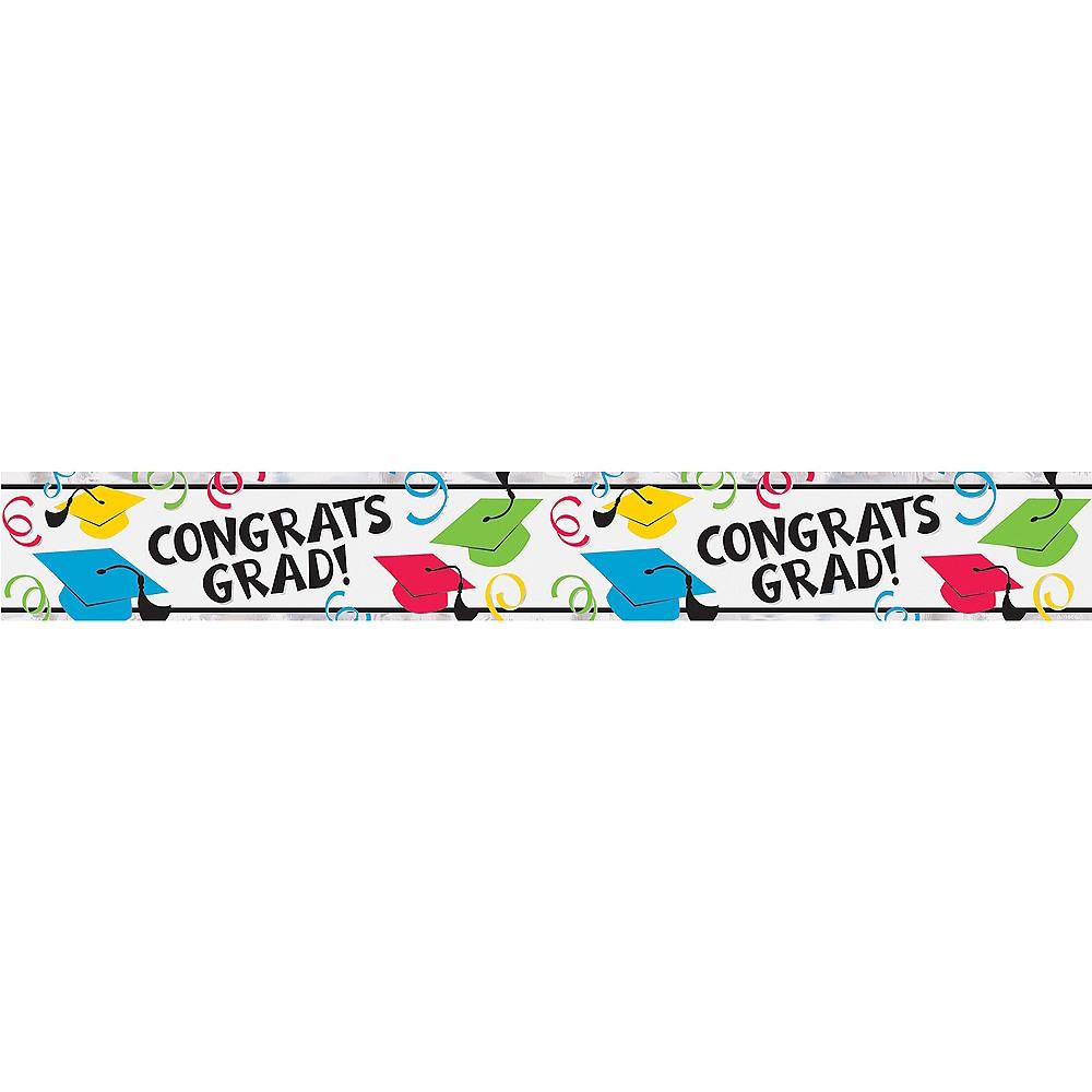 Multicolor Foil Graduation Banner Image #1
