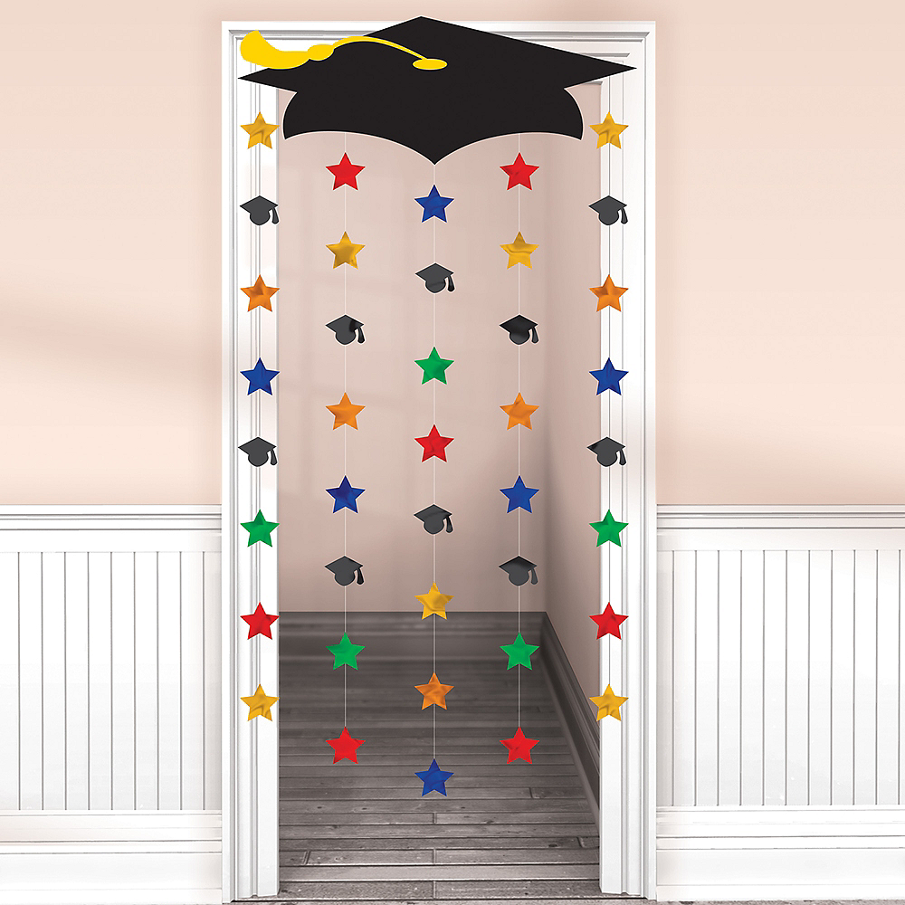 Cap & Stars Door Decoration Image #1
