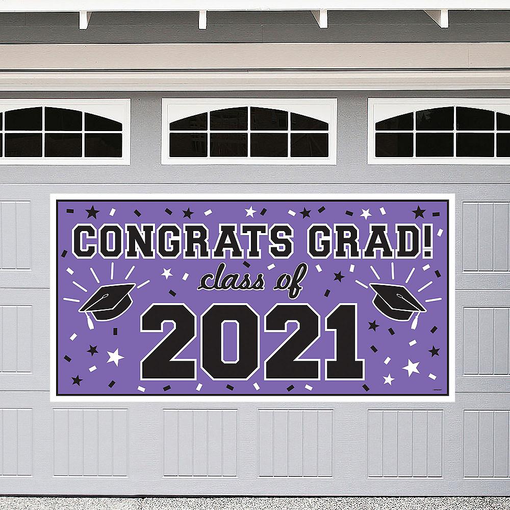 Purple 2019 Graduation Banner Image #1