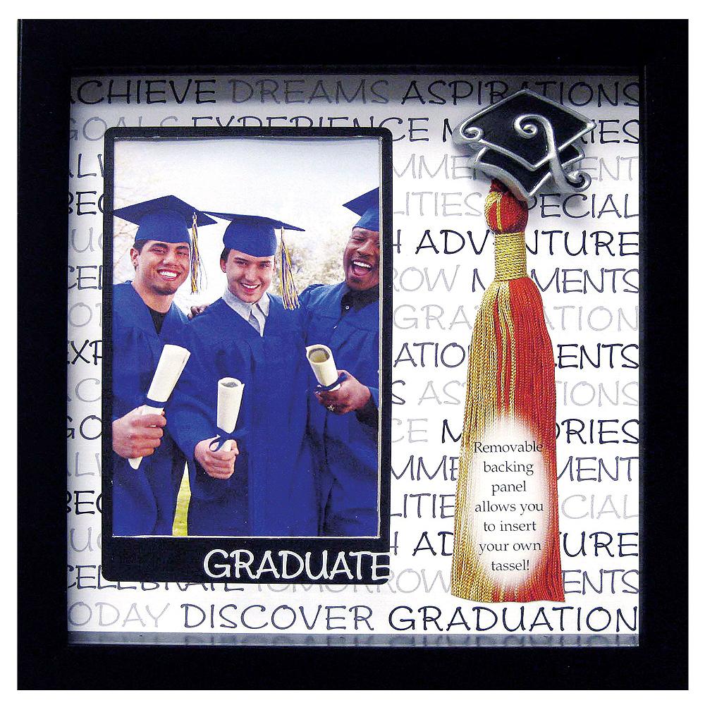 Inspirational Graduation Photo Frame Tassel Holder 9in X 9in