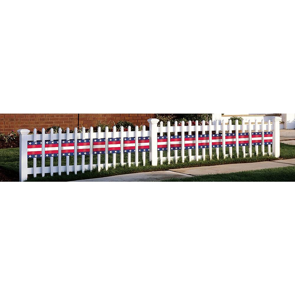 Patriotic Stars & Stripes Bunting Roll Image #1