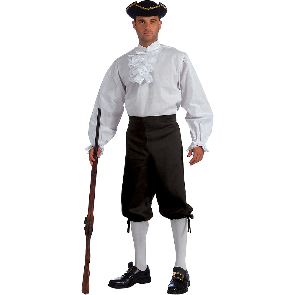 Adult Colonial Shirt Image #1