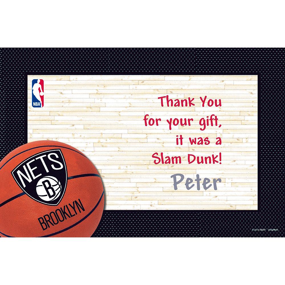 Custom Brooklyn Nets Thank You Notes Image #1