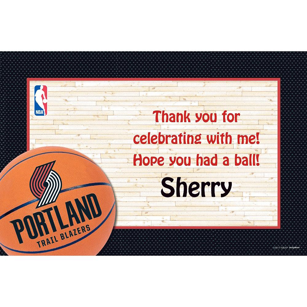 Custom Portland Trail Blazers Thank You Notes Image #1