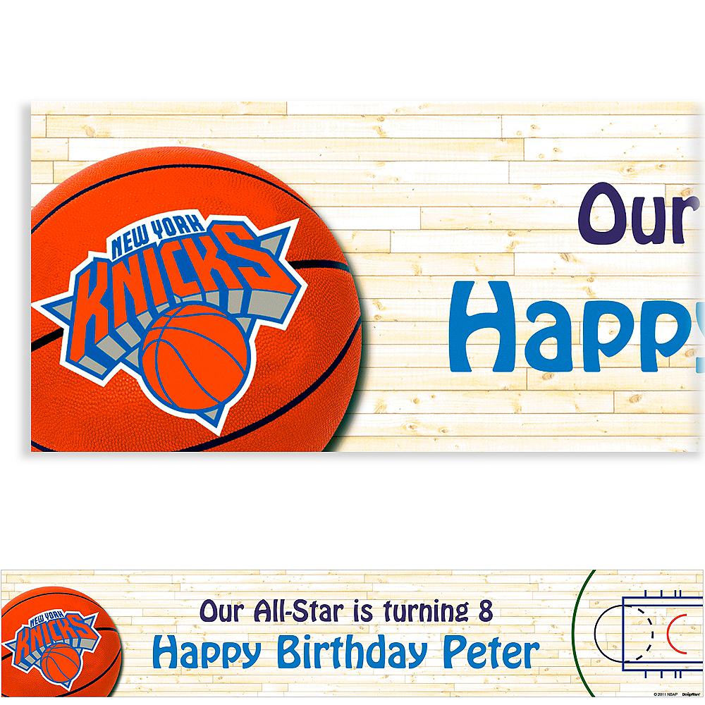 Custom New York Knicks Banner 6ft Image #1