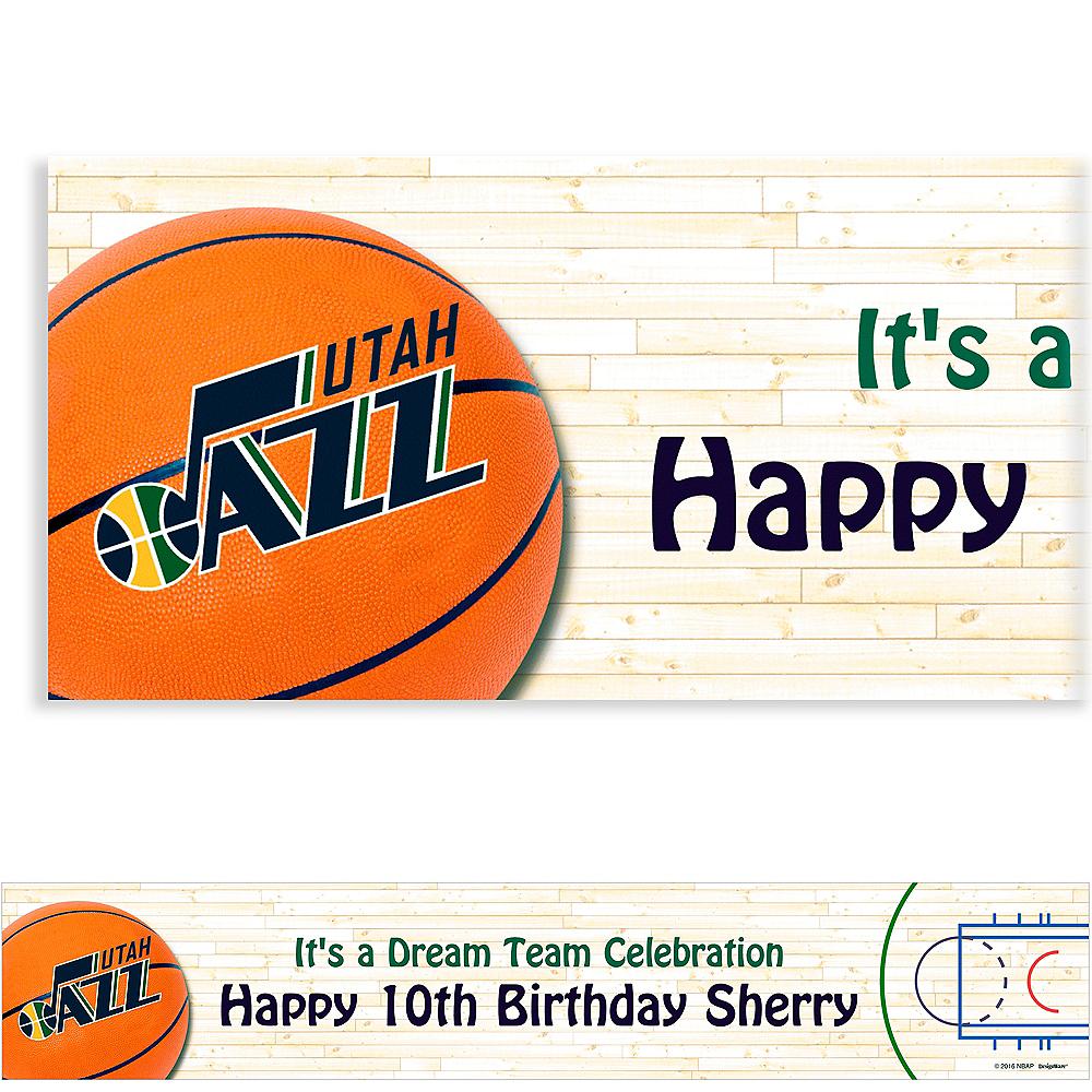 Custom Utah Jazz Banner 6ft Image #1