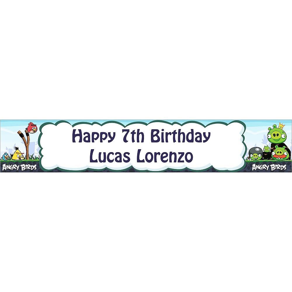 Custom Angry Birds Banner 6ft Image #1