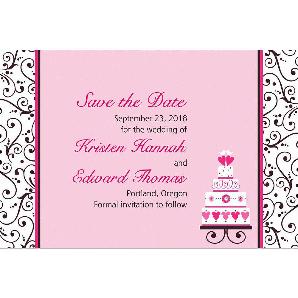 Custom Sweet Wedding Invitations Image #1