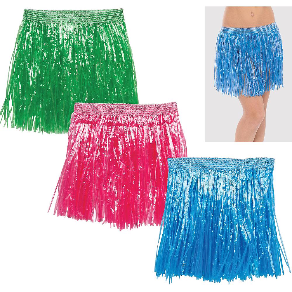 Child Hula Skirts 3ct Image #1