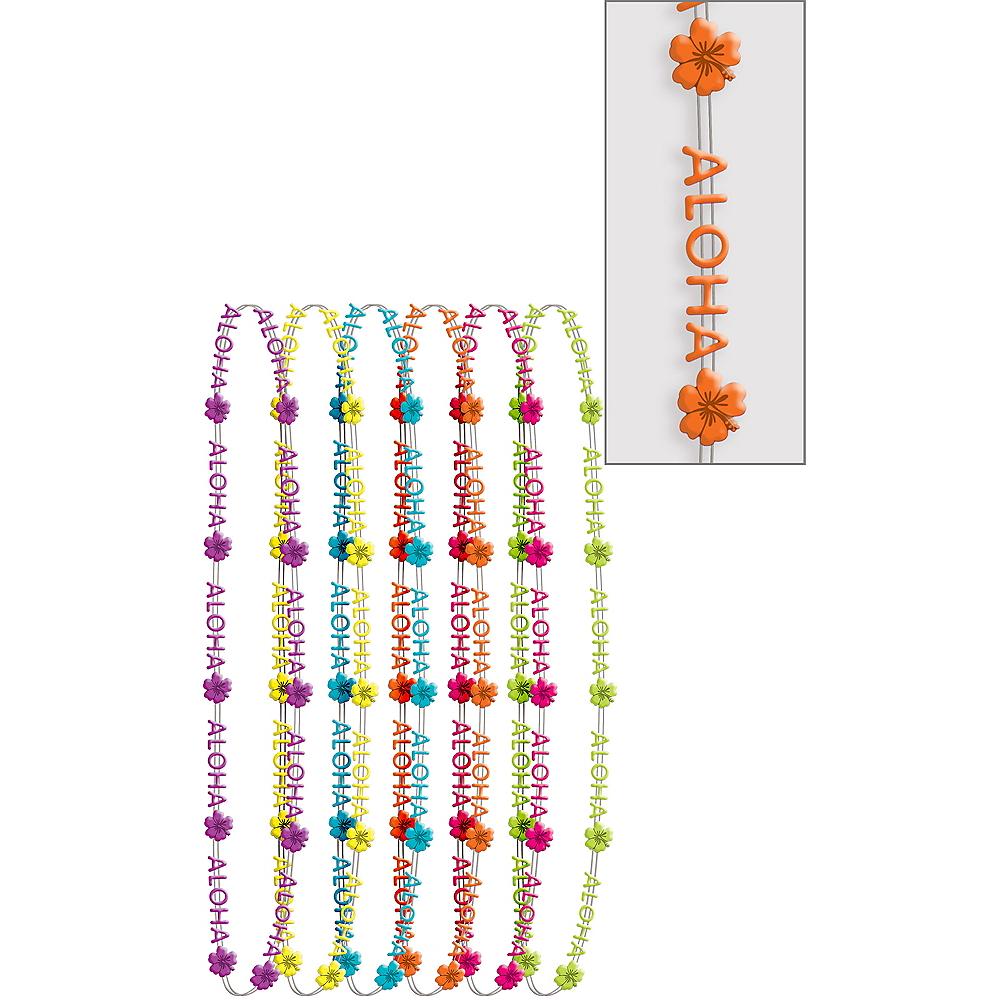 Aloha Bead Necklaces 6ct Image #1
