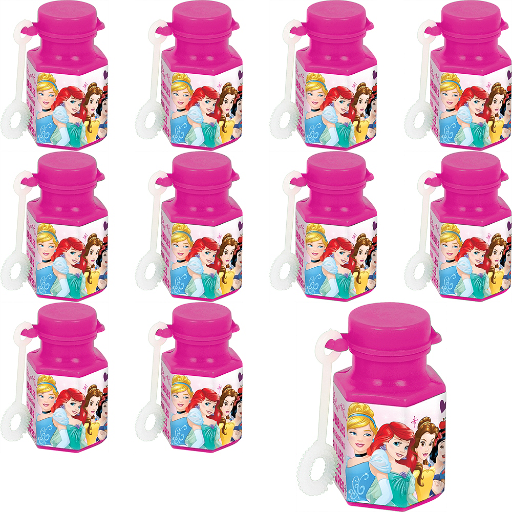 Disney Princess Mini Bubbles 48ct Image #1