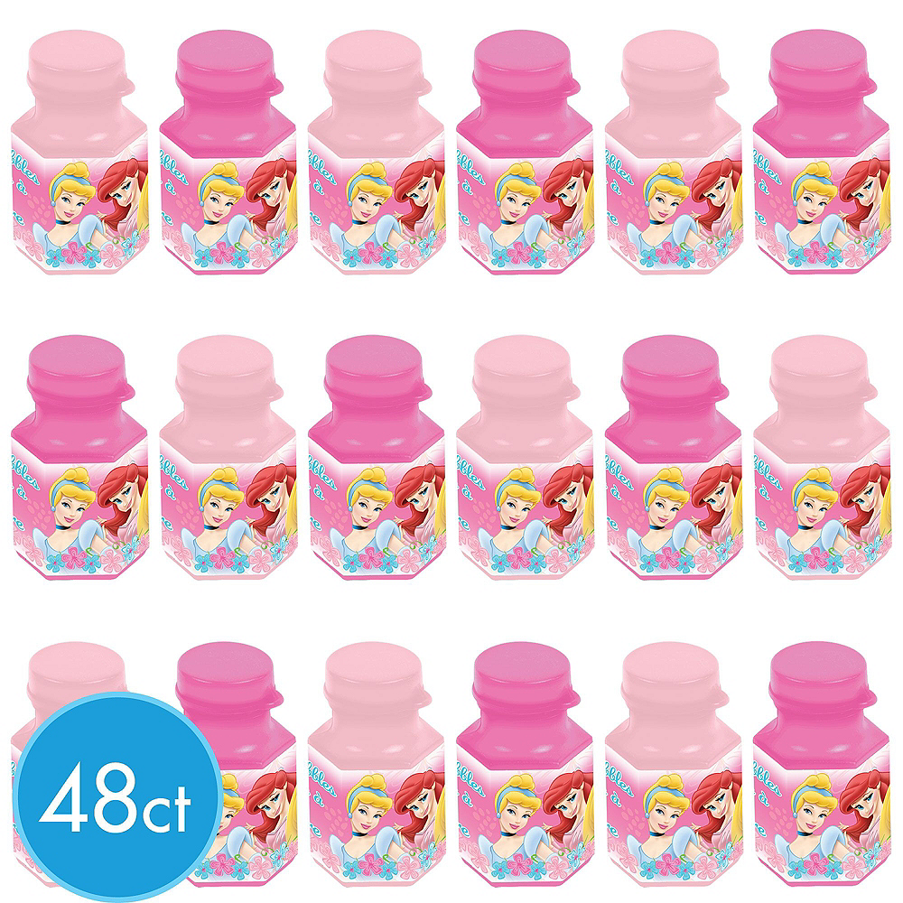 Disney Princess Mini Bubbles 48ct Image #2