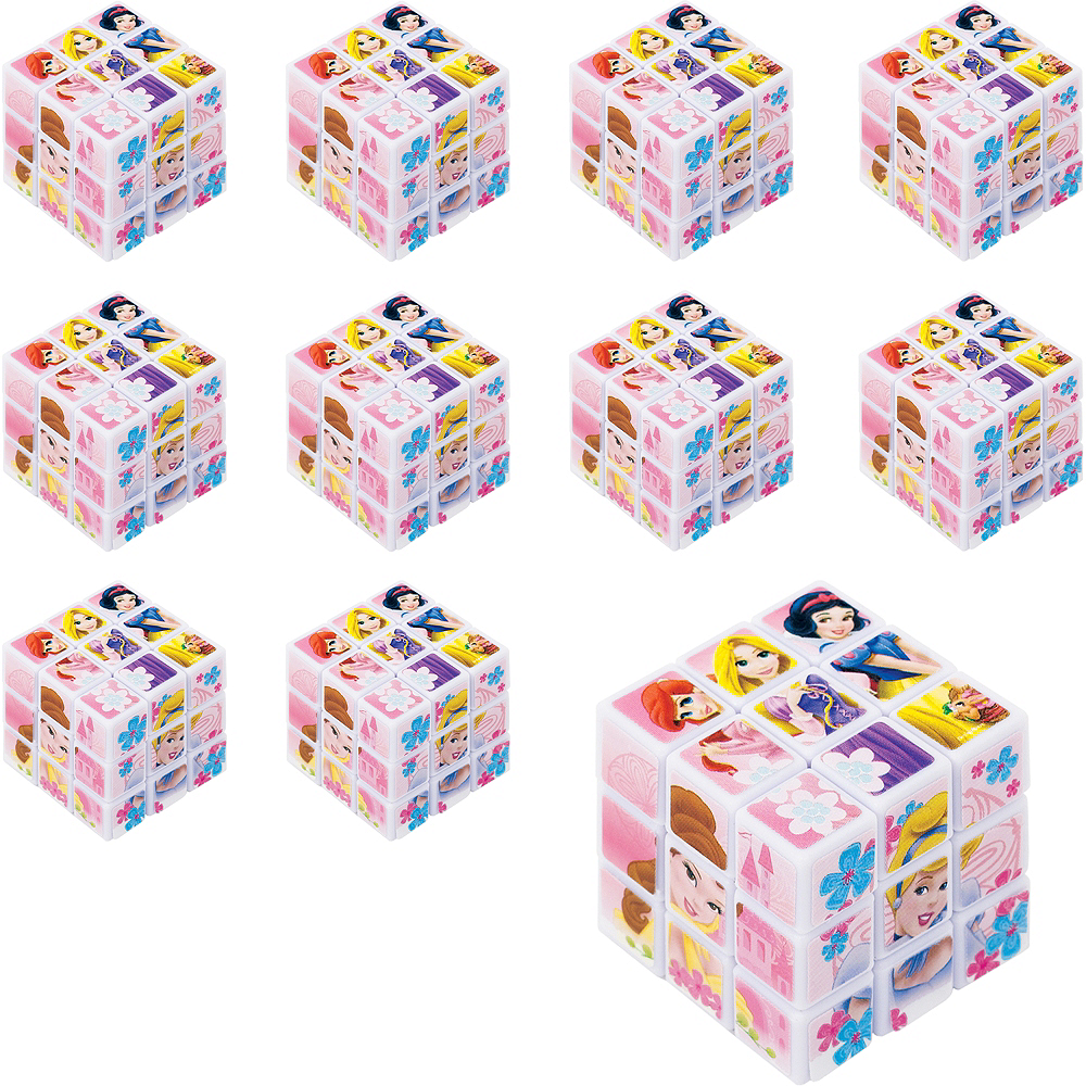 Disney Princess Puzzle Cubes 24ct Image #1