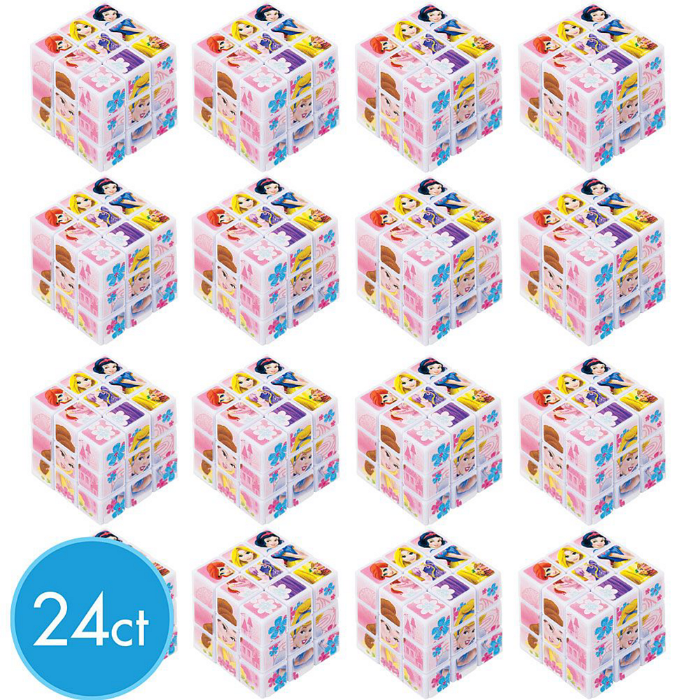 Disney Princess Puzzle Cubes 24ct Image #2