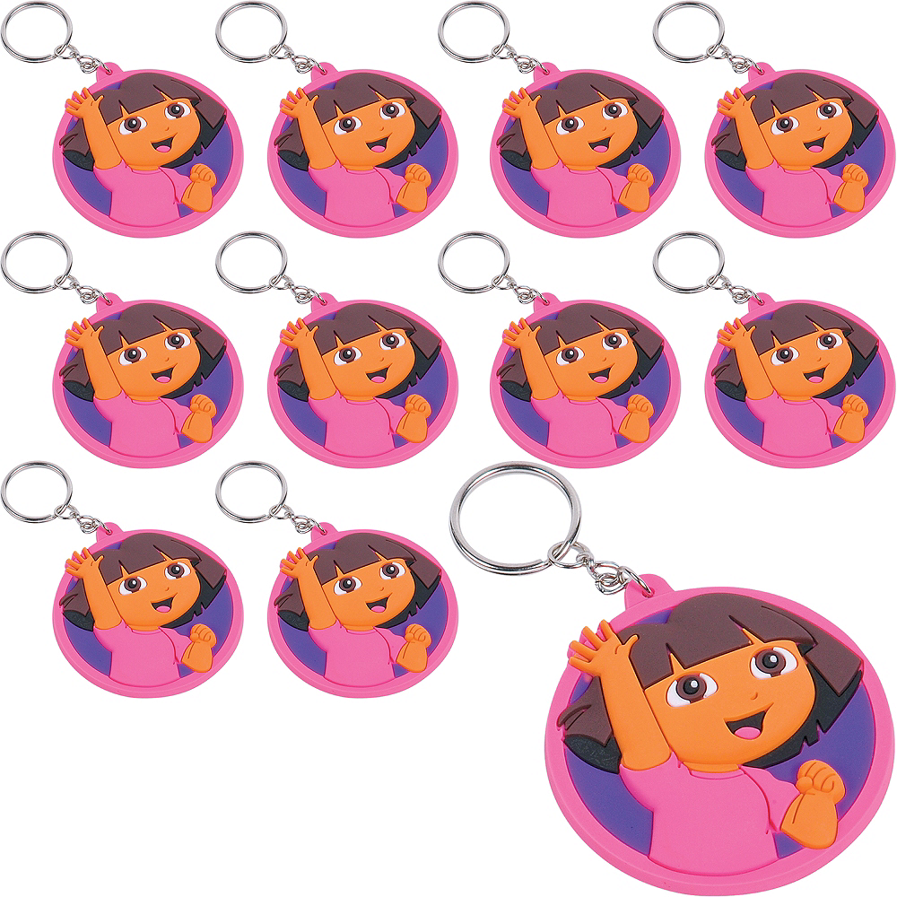 Dora the Explorer Keychains 24ct Image #1