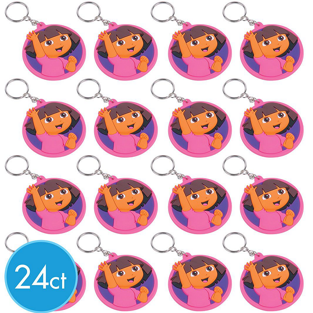 Dora the Explorer Keychains 24ct Image #2