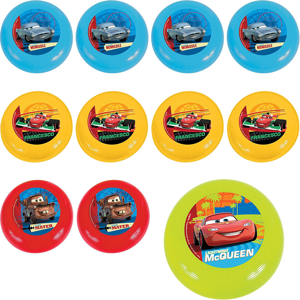 Cars Flying Discs 48ct Image #1