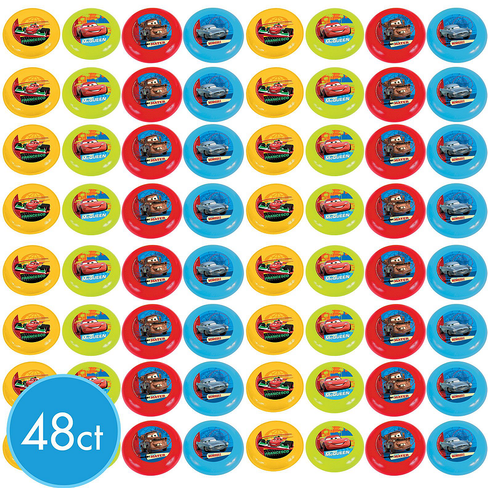 Cars Flying Discs 48ct Image #2
