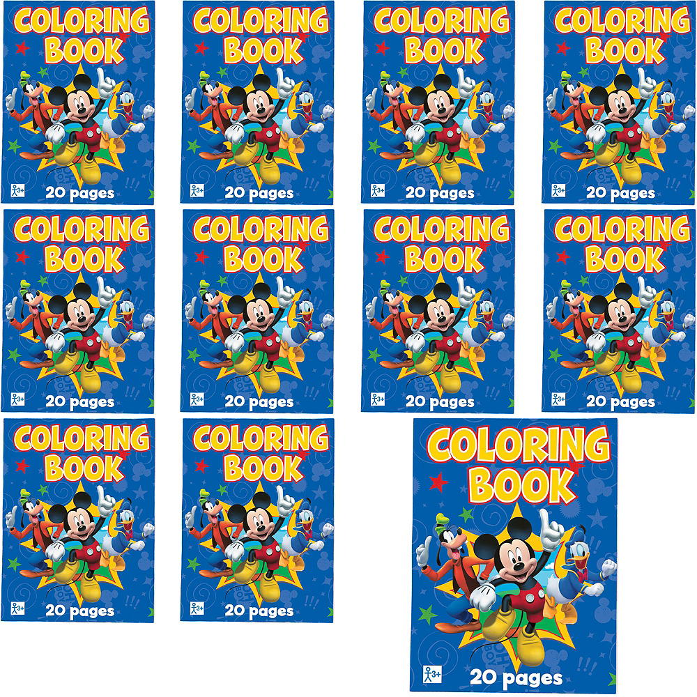 Mickey Mouse Coloring Books 48ct Image #1
