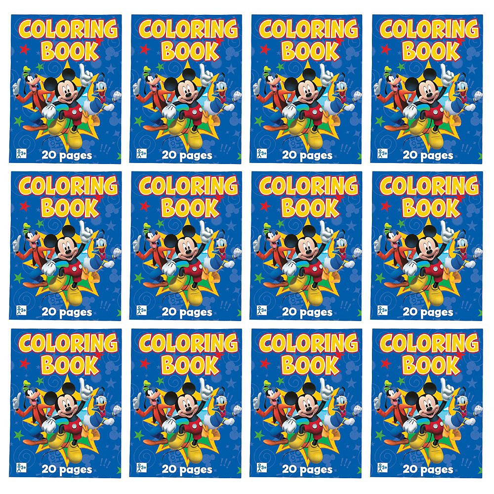 Mickey Mouse Coloring Books 48ct Image #2