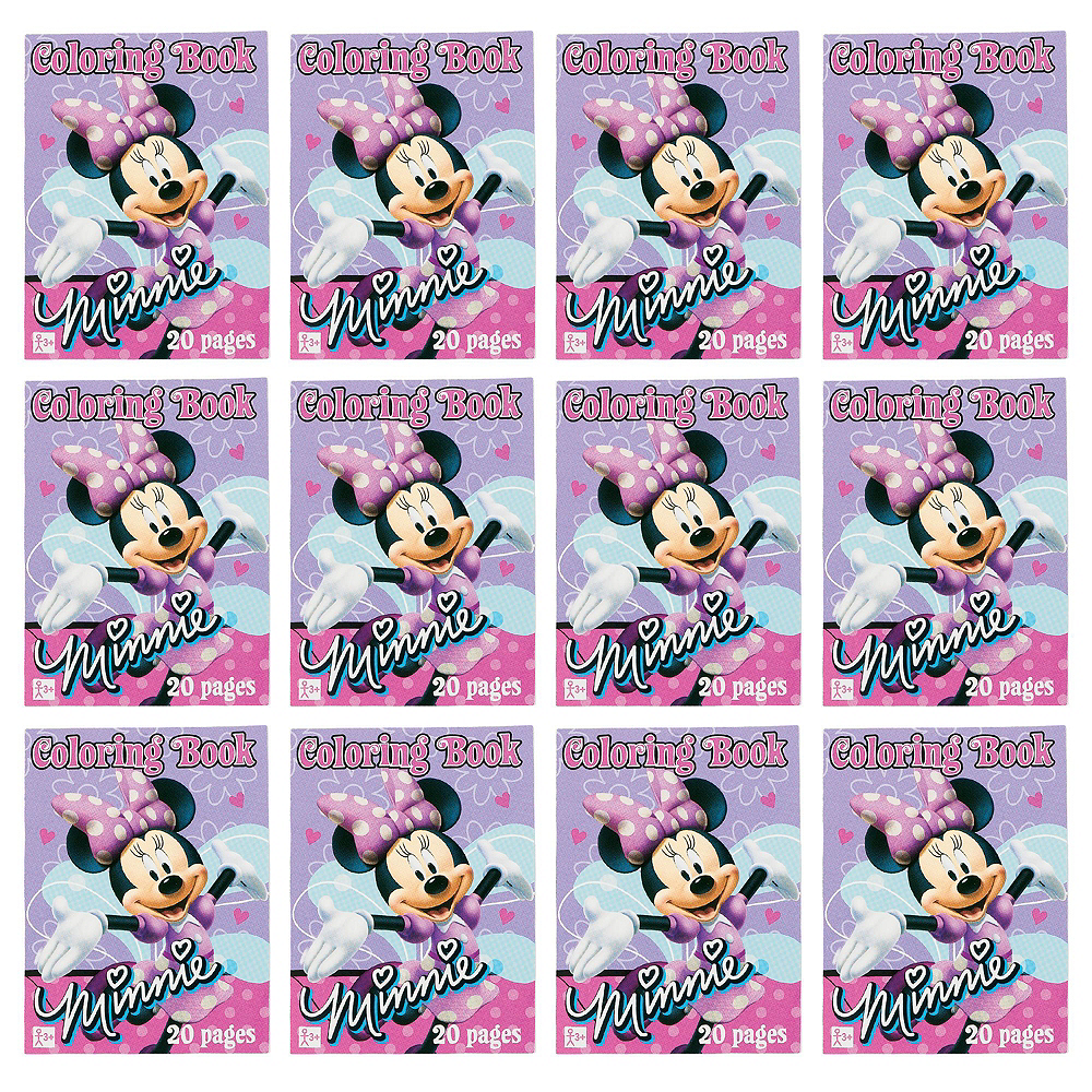 Minnie Mouse Coloring Books 48ct Image #2