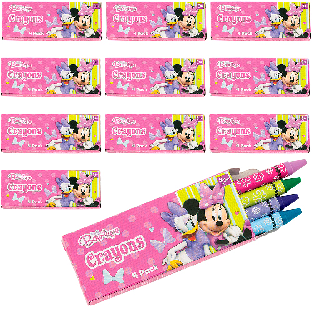 Minnie Mouse Crayon Boxes 48ct Image #1