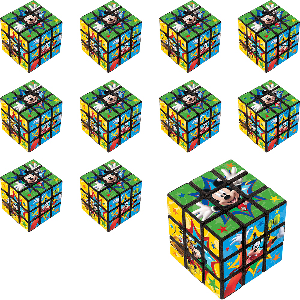 Nav Item for Mickey Mouse Puzzle Cubes 24ct Image #1