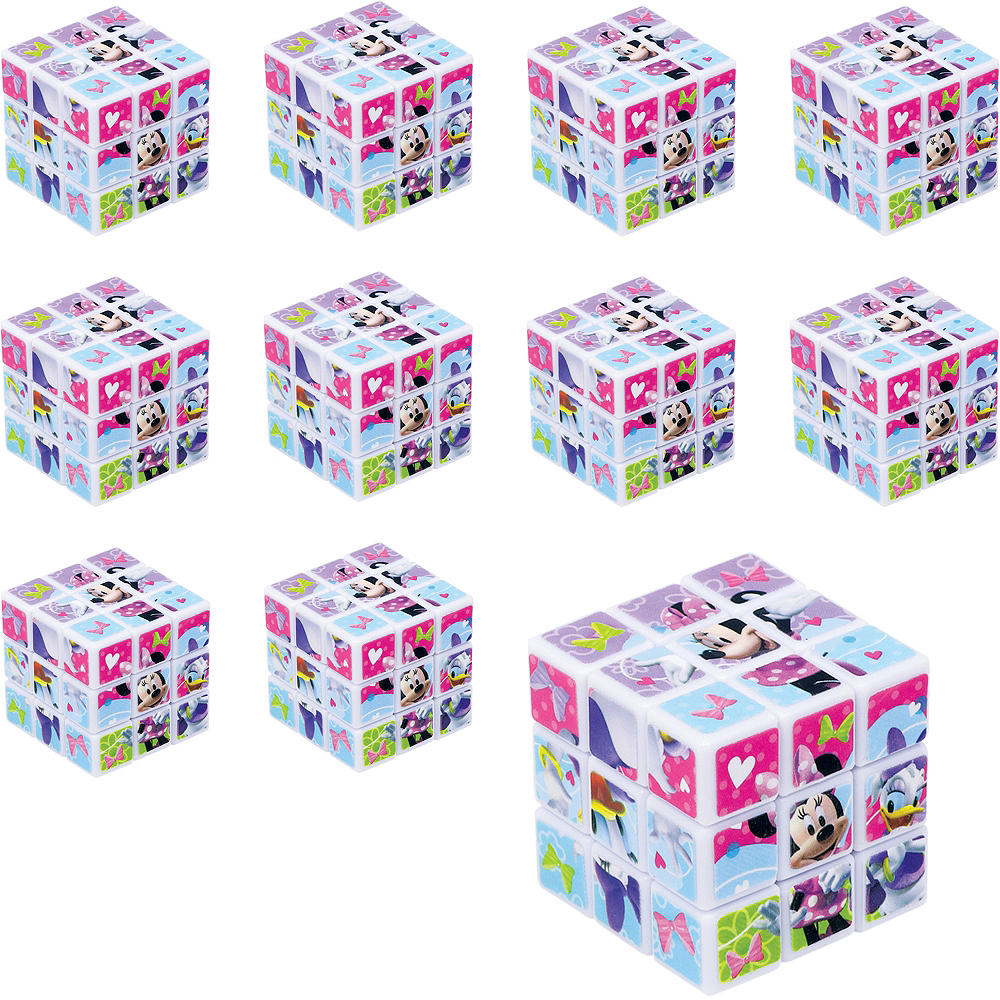 Minnie Mouse Puzzle Cubes 24ct Image #1