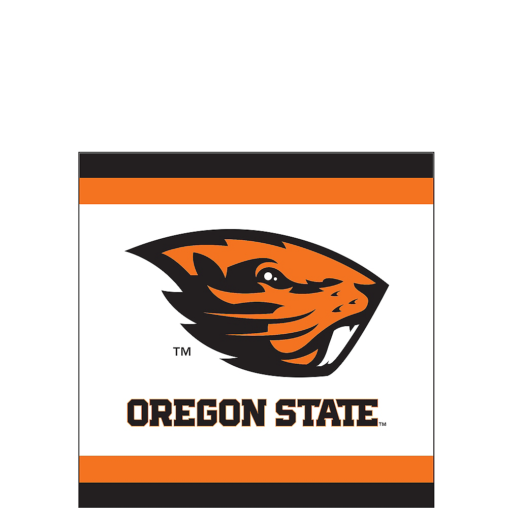 Oregon State Beavers Beverage Napkins 24ct Image #1