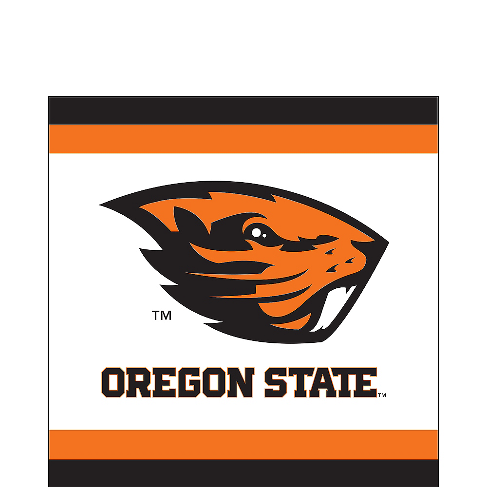 Oregon State Beavers Lunch Napkins 20ct Image #1