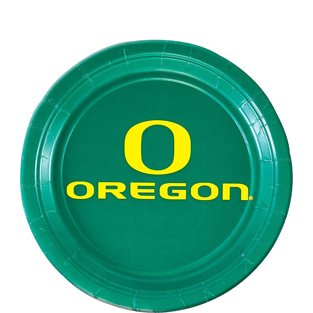 Oregon Ducks Dessert Plates 12ct Image #1