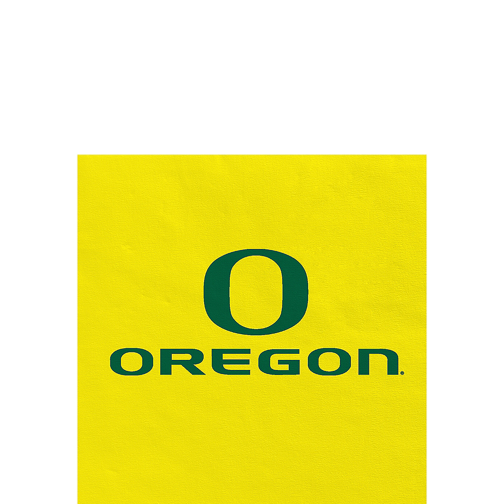 Oregon Ducks Beverage Napkins 24ct Image #1