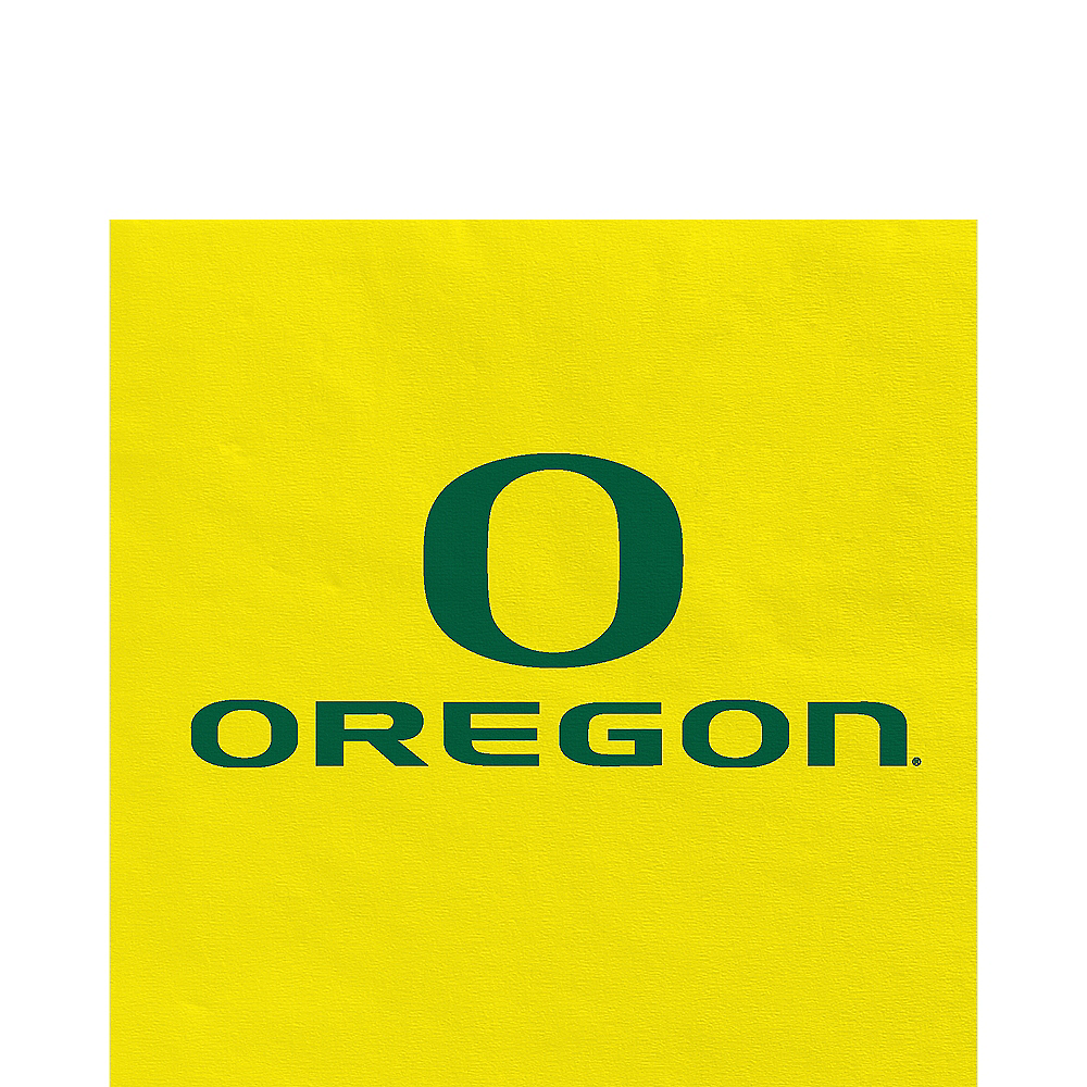 Nav Item for Oregon Ducks Lunch Napkins 20ct Image #1