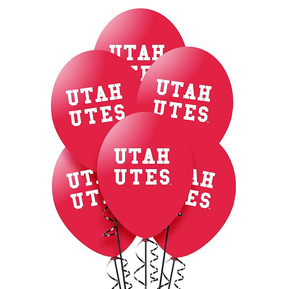 Utah Utes Balloons 10ct Image #1