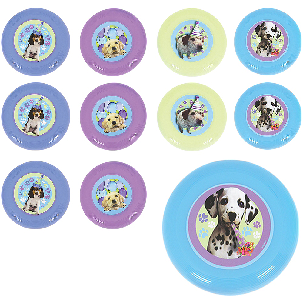 Party Pups Mini Discs 48ct Image #1
