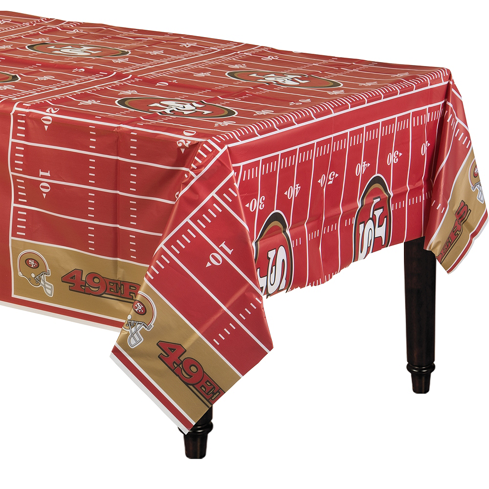 San Francisco 49ers Table Cover Image #1