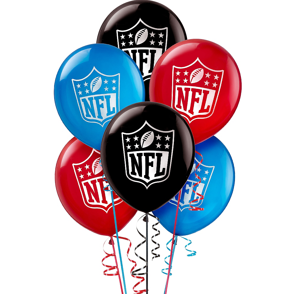 NFL Drive Balloons 6ct Image #1