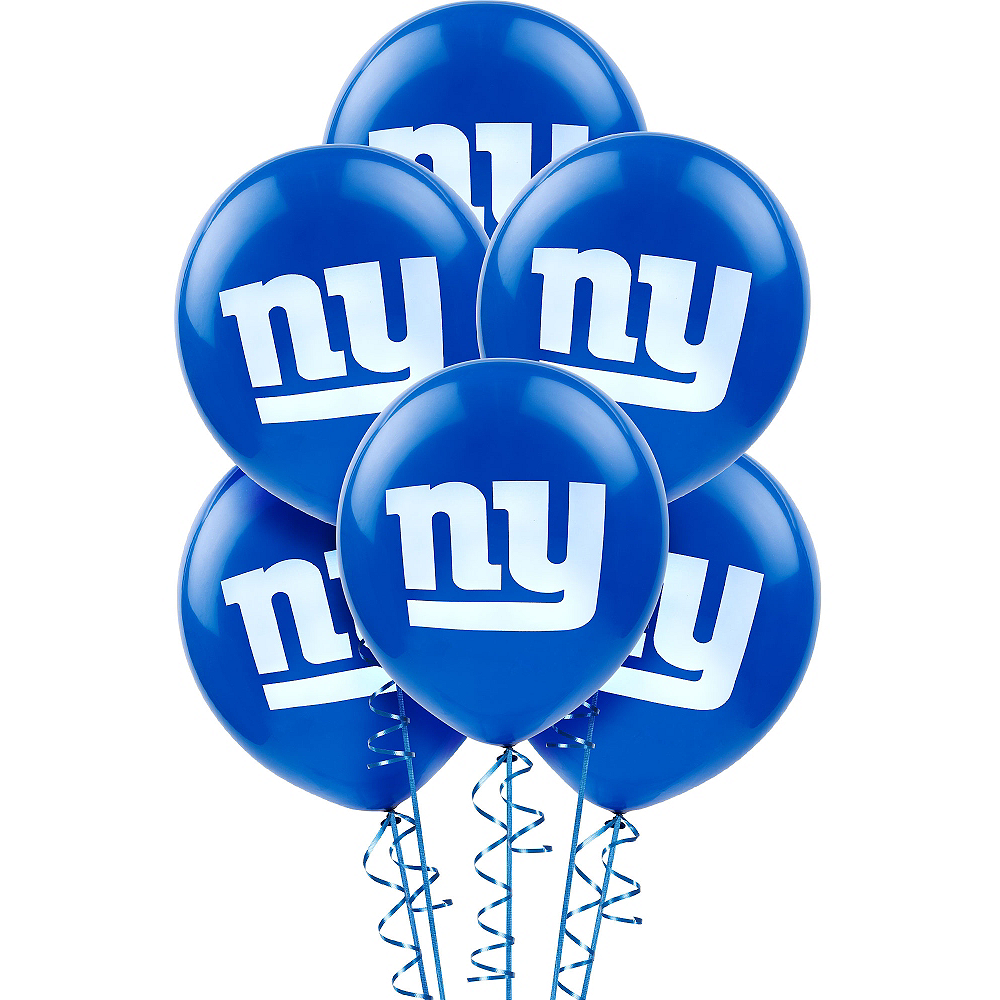 New York Giants Balloons 6ct Image #1