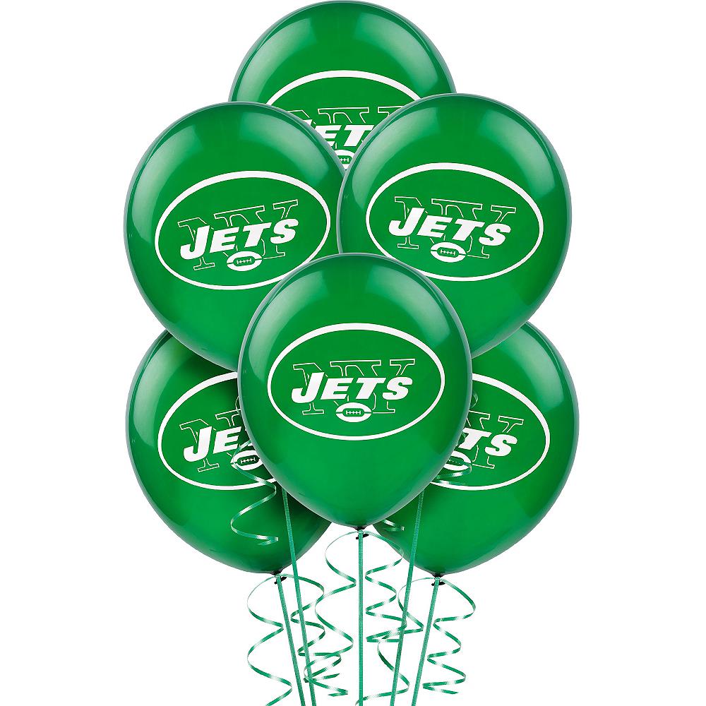 New York Jets Balloons 6ct Image #1