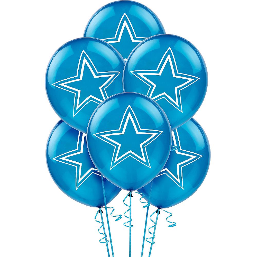 Dallas Cowboys Balloons 6ct Image #1